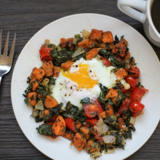 Rustic Sweet Potato Breakfast Hash