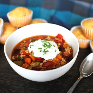 Tricked-out Turkey Chili