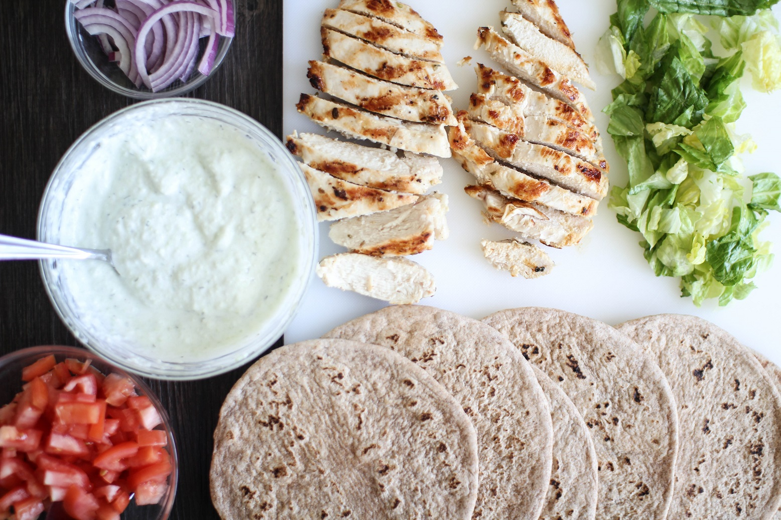 Chicken Gyros With Tzatziki Sauce Recipe Righter