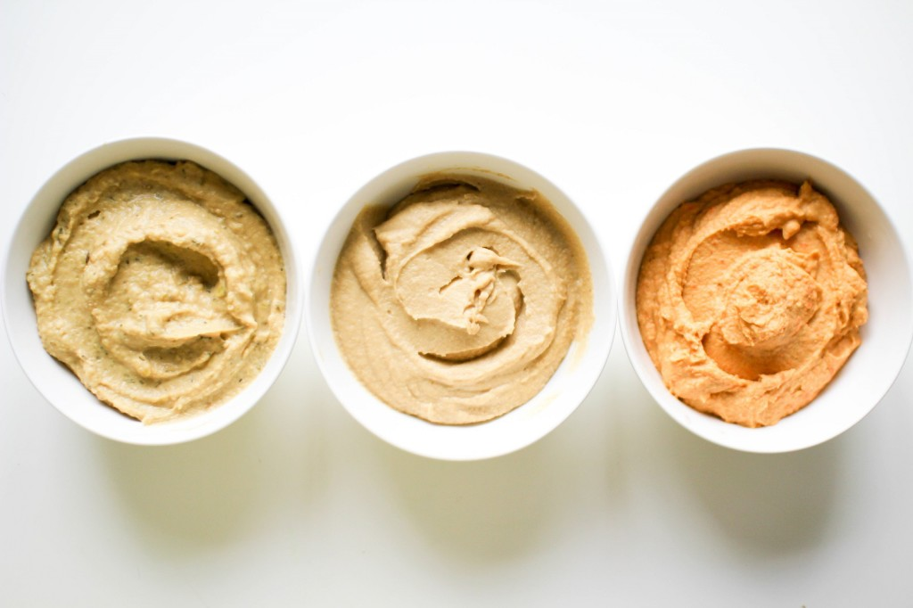 Recipe Righters hummus trio
