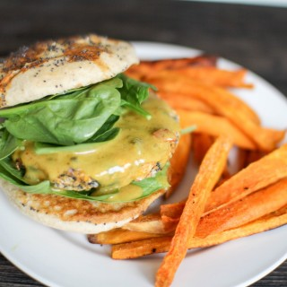 Garden Burger with Sweet Potato- Recipe Righter