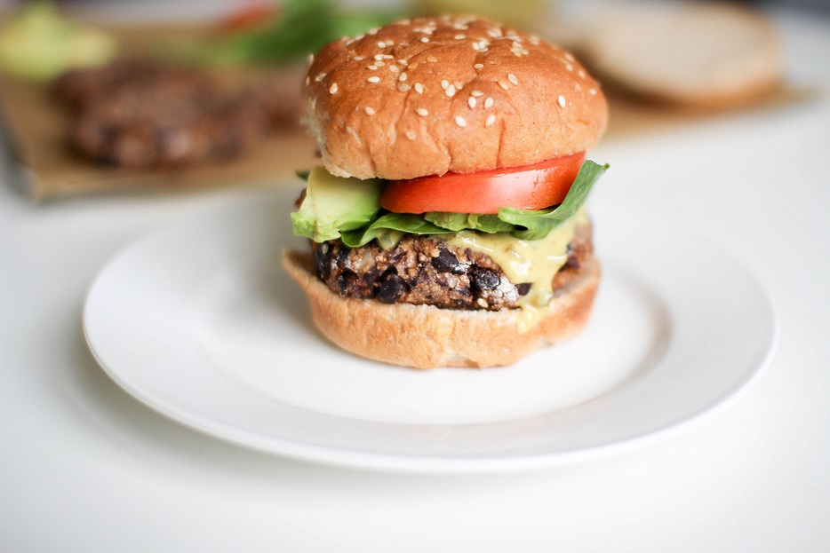 Blackbean Couscous Burgers- Recipe Righter