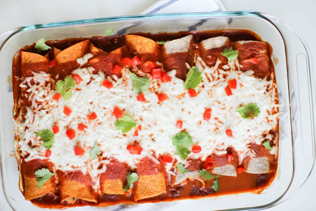 Vegan Enchiladas- Recipe Righter