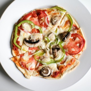 Baked Freezer Veggie Pizza - Recipe Righter
