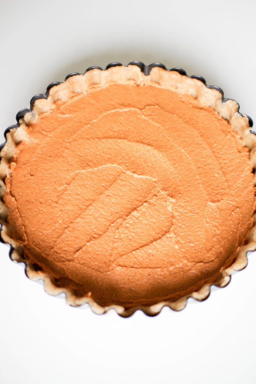 Vegan Pumpkin Pie- Recipe Righter