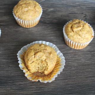 Pumpkin Bran Flax Muffins