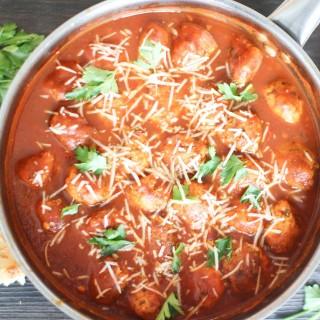 Italian Turkey Mushroom Meatballs