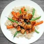 Crunchy Tofu stirfry