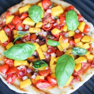Tomato Mango Flatbread